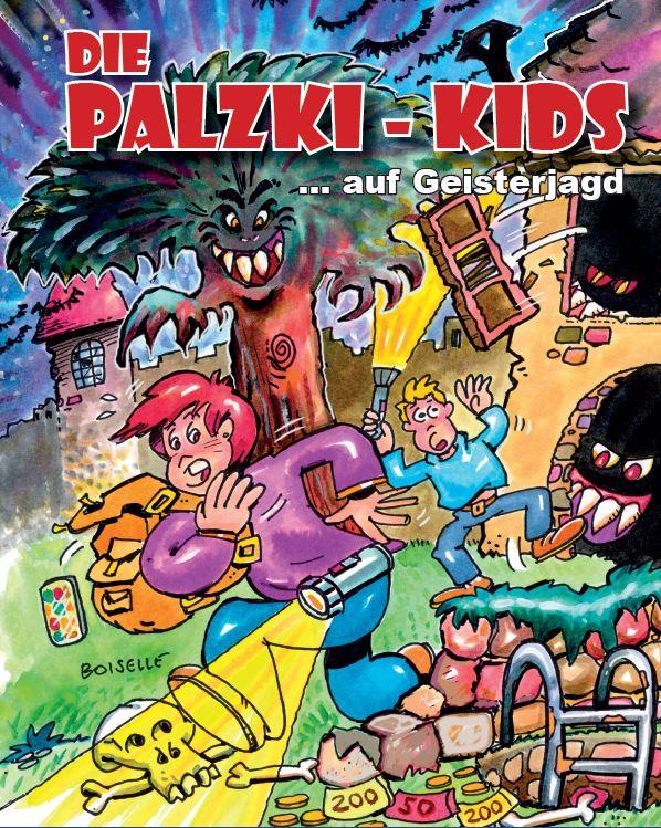 Cover Die Palzki-Kids auf Geisterjagd